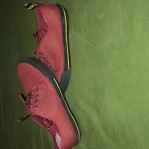 Red Dr. Marten Shoes